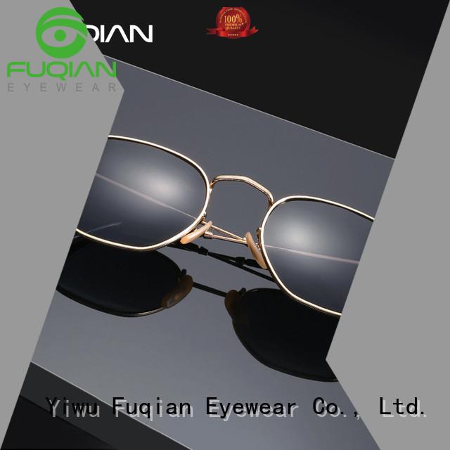 Fuqian rimless sunglasses Suppliers for men